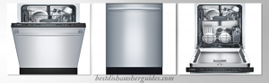Bosch SHX3AR75UC Stainless Steel Fully Integrated Dishwasher