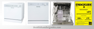 SPT SD-2202W Countertop Dishwasher